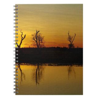 Sunset, Yellow Water Billabong 2 Notebooks