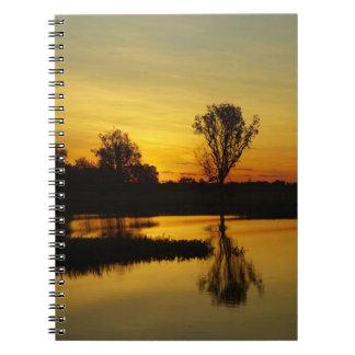 Sunset, Yellow Water Billabong 3 Notebooks
