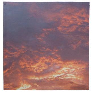 Sunset Yorkshire Landscape Napkin