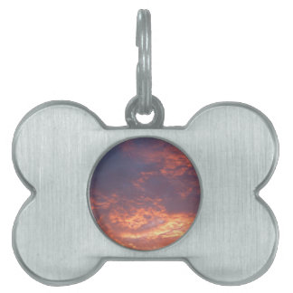Sunset Yorkshire Landscape Pet ID Tag
