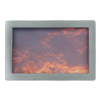 Sunset Yorkshire Landscape Rectangular Belt Buckle
