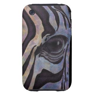Sunset Zebra iPhone 3G/3Gs Case (Lori Corbett) iPhone 3 Tough Cases