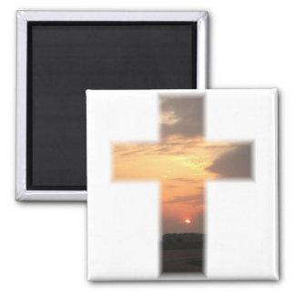 SunsetCrossMagnet Magnet