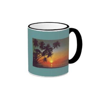 Sunsetisland Ringer Mug