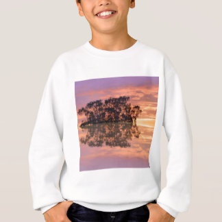 Sunsets in reflection sweatshirt