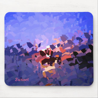SUNSETS MOUSE MAT