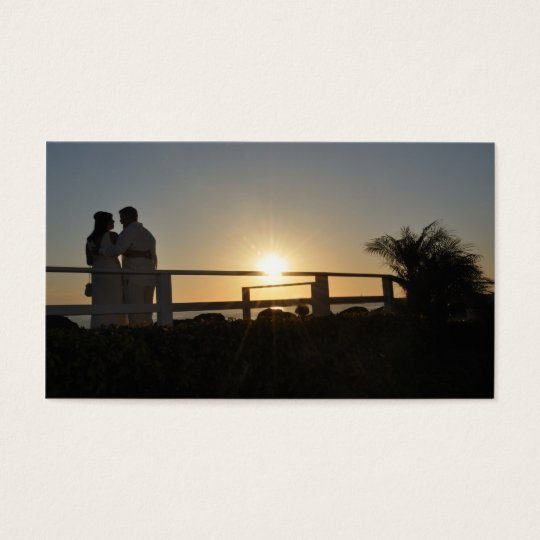 sunsetwedding business card