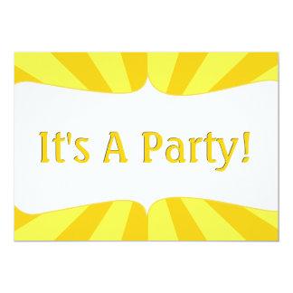 Sunshine 1st Birthday 13 Cm X 18 Cm Invitation Card
