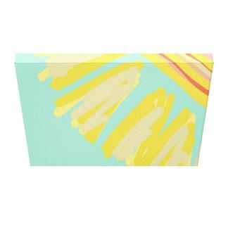 Sunshine Abstract Bright Design Artwork Canvas Print