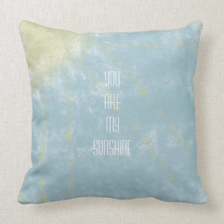 Sunshine Abstract Pillow