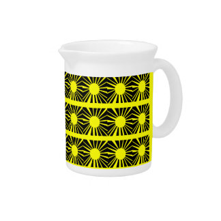 SUNSHINE ABSTRACT pitcher