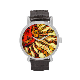 Sunshine Abstract Wristwatch