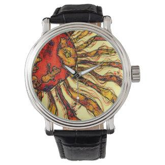 Sunshine Abstract Wrist Watch