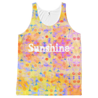 Sunshine All-Over Print Tank Top