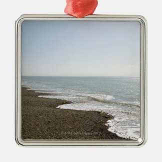 Sunshine and beach christmas ornament