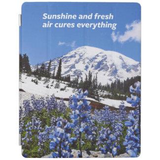 Sunshine and Fresh Air iPad Cover