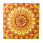 Sunshine and Happiness Mandala Tile - Small