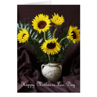 Sunshine and Happiness Mother in Law Day Card