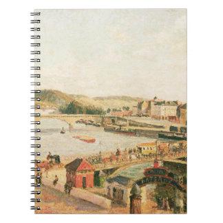 Sunshine at Rouen, 1896 (oil on canvas) Notebooks