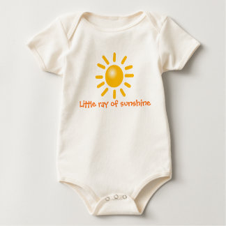 sunshine baby bodysuit