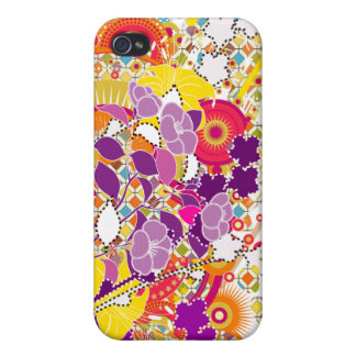 Sunshine Baby Color Abstract 4G  iPhone 4/4S Cases