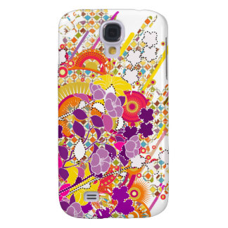 Sunshine Baby Color Abstract  Galaxy S4 Covers