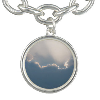 Sunshine behind clouds