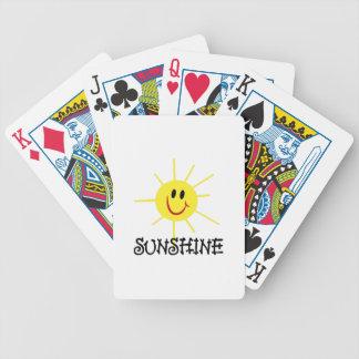 Sunshine Bicycle Playing Cards