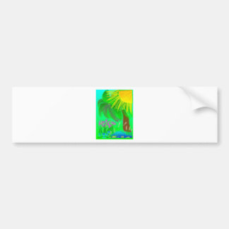 Sunshine Blooms Bumper Sticker
