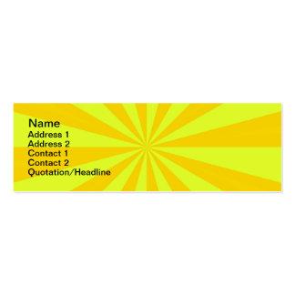 Sunshine Card Business Card Templates