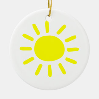 Sunshine Christmas Ornament