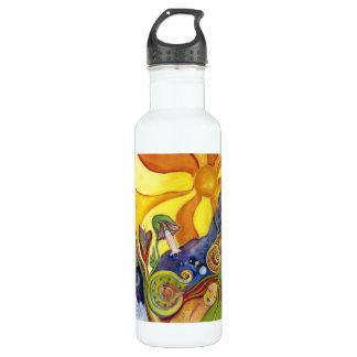 Sunshine Dream Garden Of Delights Art 710 Ml Water Bottle