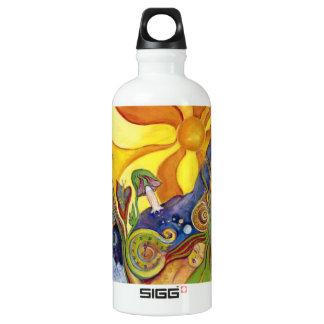 Sunshine Dream Garden Of Delights Art Water Bottle