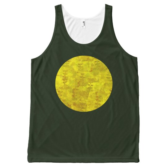 Sunshine Earthy All-Over Print Tank Top