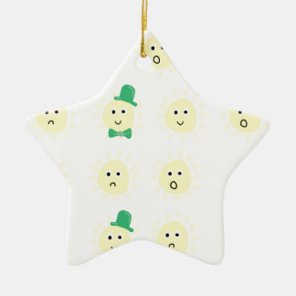 sunshine emotions christmas ornament