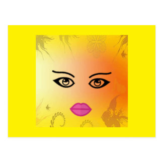 Sunshine Fantasy Girl Postcards