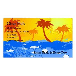 Sunshine & Fishies Set Business Card
