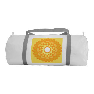 Sunshine flower duffel gym duffel bag