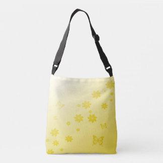 Sunshine Flowers n Butterflies Crossbody Bag
