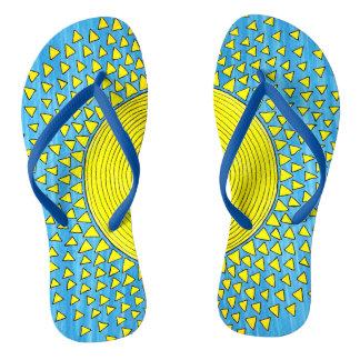 Sunshine for your feet flip flops