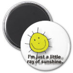 sunshine fridge magnet