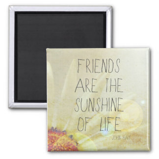 Sunshine & Friendship Magnet