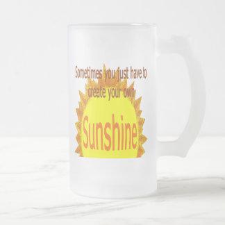 Sunshine Frosted Mug
