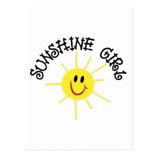 Sunshine Girl Postcard
