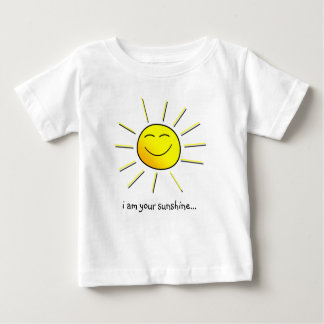 "Sunshine (goes w/ ""you are my sunshine"") matching baby T-Shirt"