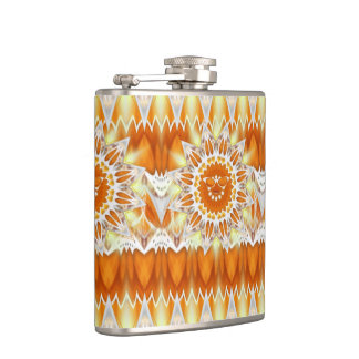Sunshine Happiness - Sun with Sunglasses Flask