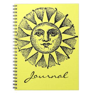 Sunshine Journal Spiral Notebooks