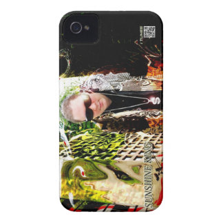 Sunshine King Big town center for I Phone 4&s iPhone 4 Case