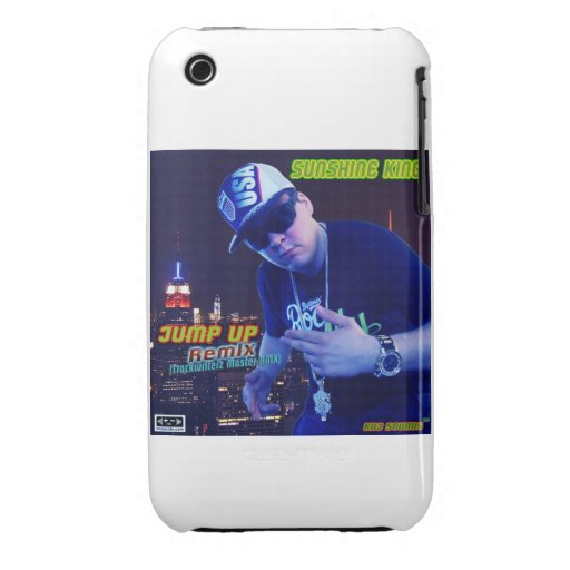 Sunshine King - Jump UP (RMX) I Phone 3G/3Gs iPhone 3 Case-Mate Case