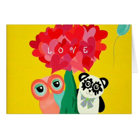 Sunshine Love Valentine's Day Card